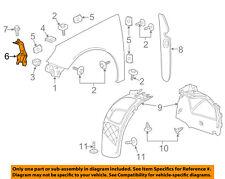 Buick GM OEM 12-17 Regal Fender-Front Bracket Left 13224241