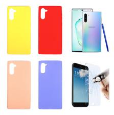 """Funda Carcasa Silicona Gel Mate Para Samsung Galaxy Note 10 6.3"""""""
