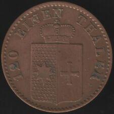 More details for 1867 b german states waldeck-pyrmont 3 pfennig | european coins | pennies2pounds