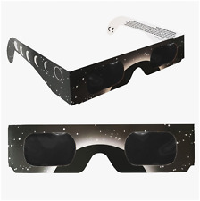 Solar Eclipse Glasses 12 Pack Safe CE and ISO Certified Goggles Solar Eclipse Vi