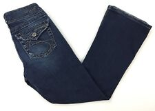 Silver Suki Surplus Bootcut Jeans Womens Size W27 L30 (27 x 29) Denim Blue