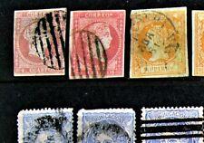 Sammlung Spanien ab Klassik + Dienstmarken gestempelte Ausgaben