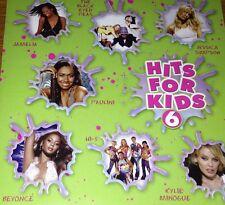 Hits For Kids 6 CD 2004 Delta Goodrem Hi-5 Beyonce Jay-Z Kylie Minogue Steps
