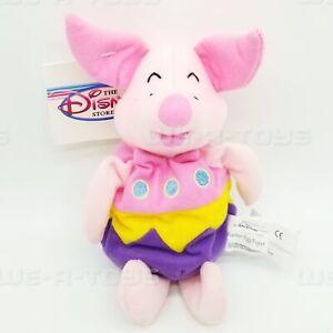"Disney Store Mini Bean Bag Easter Egg Piglet 8"" Plush Toy NEW"