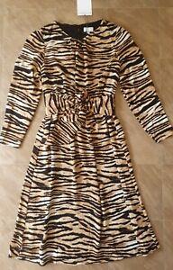 BNWT Witchery Tiger Print Dress!! Size 10!! Rrp $169.95!!