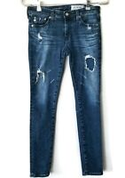 AG Adriano Goldschmied The Legging Ankle super skinny ankle jeans denim size 26