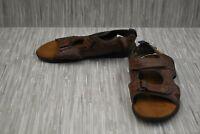 **Nunn Bush Rio Grande Three Strap River Sandal, Men's Size 10M, Brown