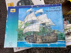 Pirate Ship 'Black Swan' 1/72 Scale (Zvezda 9031) model kit Unstarted