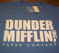 THE OFFICE DUNDER MIFFLIN Paper Company T-Shirt XL NEW w/ Tag