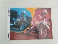 YAMAHA DT125R Motorcycle Sales Brochure 1993 #3MC-DT125R-93UK