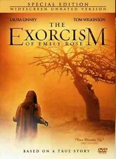 Exorcism of Emily Rose [Unrated] (2007, DVD NEW) CLR/WS