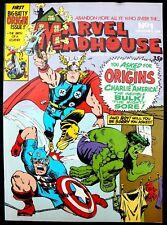 Marvel Madhouse 1 a nrm 1981 Bronze Age B&W Marvel UK reprint of Not Brand Ecch!