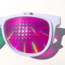 GloFX 3Diffraction Glasses psychedelic trippy vintage teen retro hipster flips