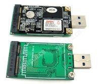 Sintech USB 3.0 mSATA Mini SATA SSD adapter card as USB disk driver