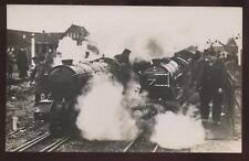 RP Postcard New Rumney ENGLAND Railway Engines view