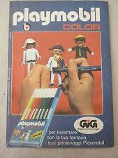 advertising pubblicita' PLAYMOBIL COLOR per inventare GIG --1979