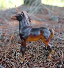 Custom Breyer classic Mesteno foal to unicorn - fantasy decorator CM