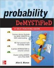 Demystified: Probability Demystified by Allan G. Bluman (2005, Paperback)