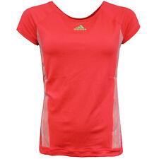 Abbigliamento sportivo da donna rosa manica corta Fitness