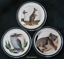 2012 Australian Outback - 3 coin Set - 1.5 ounces of .999 silver