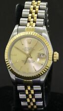 Rolex Datejust 69173 SS/18K gold elegant high fashion automatic ladies watch