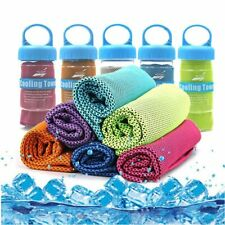 Ice Cooling Towel Sports Hiking Golf Running Jogging Gym Instant Chilly Pad NEW