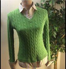 Aeropostal Limited Edition Green Acrylic Sweater Size M