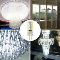 2pcs Unversal Dimmable G4 LED 12V AC/DC COB Light 3W White Crystal Lamp Bulb New