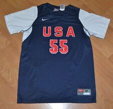 Team USA Womens Medium 8-10 Performance Volleyball Basketball Soccer Jersey Nike