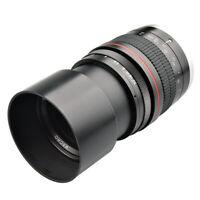 EF Mount Camera 135mm f/2.8L Full Frame Manual Focus Lens for Canon EOS DSLR