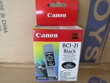 Cartuccia CANON BCI-21 Originale ( Colore Nero, Serie In Descrizione...)