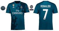 Trikot Real Madrid 2017-2018 Third UCL - Ronaldo CR7 [164-XXL] Champions League