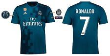 Camiseta real madrid 2017-2018 Third UCL-ronaldo cr7 [164-xxl] Champions League