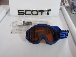 SCOTT Blue Classic TML Ski / Snowboard Googles.