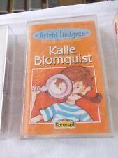 Astrid Lindgren: Kalle Blomquist, eine Audio Cassette
