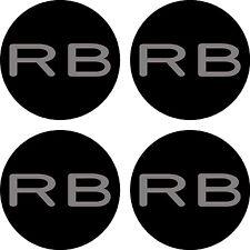 Subaru Impreza rb320 Rueda de la aleación Sticker Decal Reemplazo centros 60mm