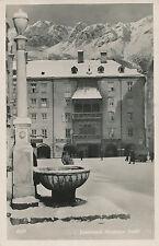 AK aus Innsbruck, Goldenes Dachl, Tirol   (D36)