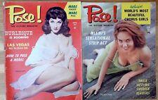 Pose! 1950s glamour erotic