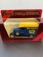 MATCHBOX Models of Yesteryear. Y-19 1929 Morris Cowley Van. Michelin. Mint