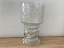 Lord of the Rings 2001 Fellowship of the Ring Scrioer Glass Cup Vintage Collect.