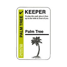 Fluxx KEEPER Promo Card - Palm Tree - *NEW*