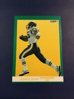 1991 Fleer # 179 JUNIOR SEAU San Diego Chargers 56.5 Sacks 1,522 Tackles !