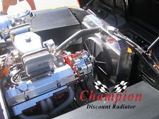 1960 1961 1962 GMC, Chevy Apache Pickup Truck Western 4 Row WR Radiator