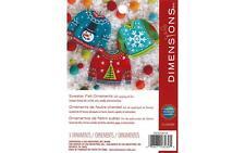 Dimensions 72-08289 Felt Applique Kit Sweater Ornament