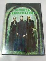 Matrix Reloaded Keanu Reeves Edicion Especial - 2 x DVD Español Ingles - Am