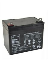 35AH x 2 BLACK BOX AGM Mobility Scooter batteries Fit Shoprider, Freerider Etc