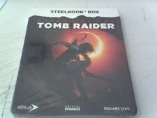 Shadow Of The Tomb Raider Steelbook Box - Brand New and and Sealed