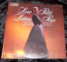 PATTI PAGE Love Letters LP