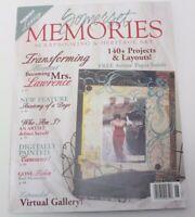 Somerset Memories Scrapbooking Heritage Art Magazine June/July 2007 Back Issue