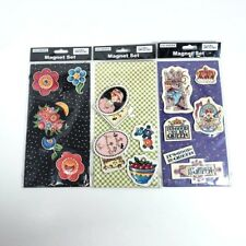 Mary Engelbreit Colorbox Magnets 3 Packages 18 Magnets Flowers Queen Cherries